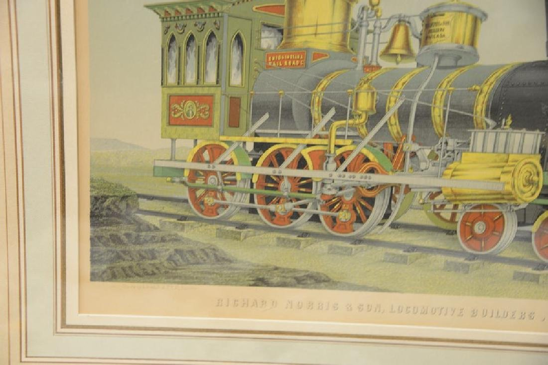 Freight locomotive, Richard Norris & Son, Locomotive - 2