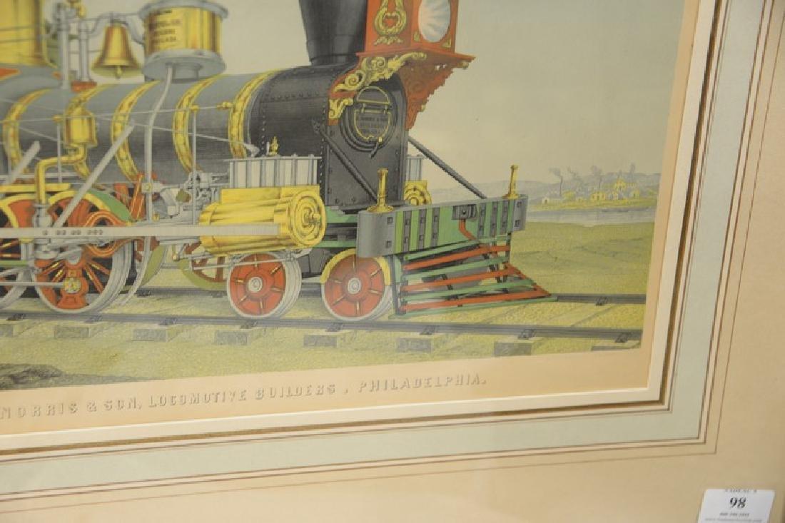 Freight locomotive, Richard Norris & Son, Locomotive - 3