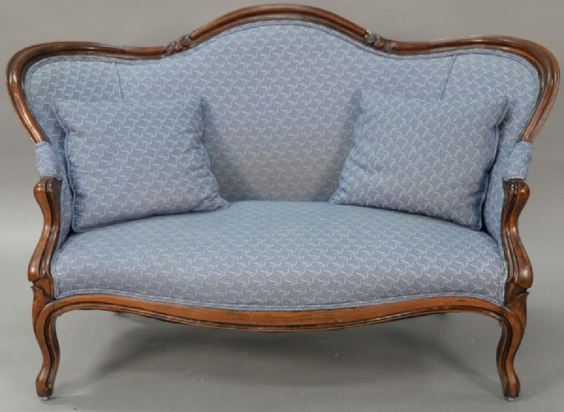 Two piece lot to include a Victorian loveseat (lg.