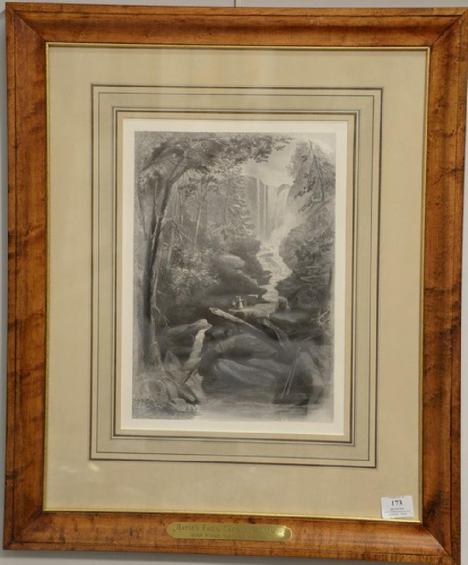 Set of four etchings after william Momberger to