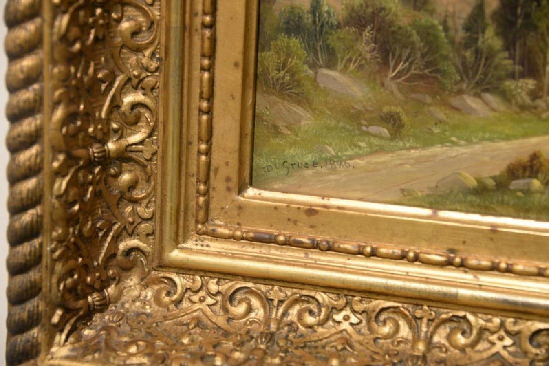 Daniel Charles Grose (1838-1900), oil on canvas, - 4
