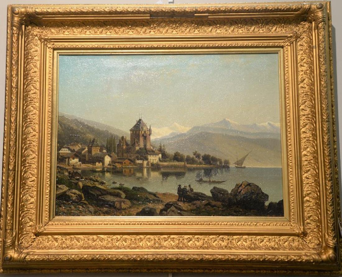 After William Clarkson Stanfield (1793-1867), oil on