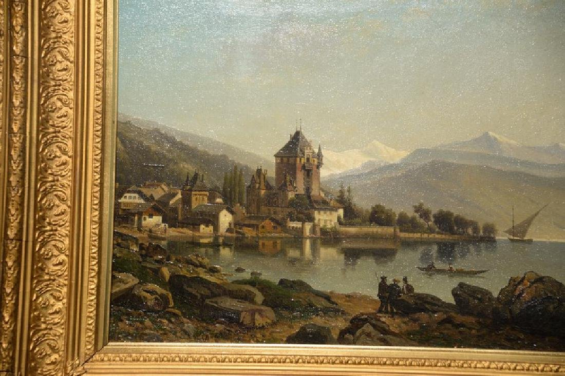 After William Clarkson Stanfield (1793-1867), oil on - 2
