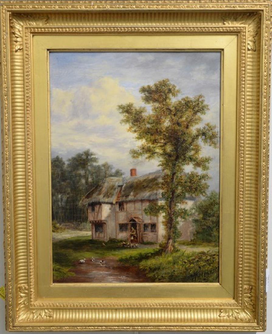 Thomas B. Finlayson (1835-1893) oil on panel, Burgess