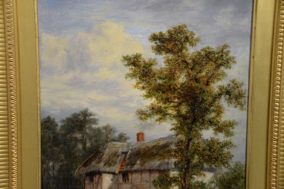 Thomas B. Finlayson (1835-1893) oil on panel, Burgess - 2