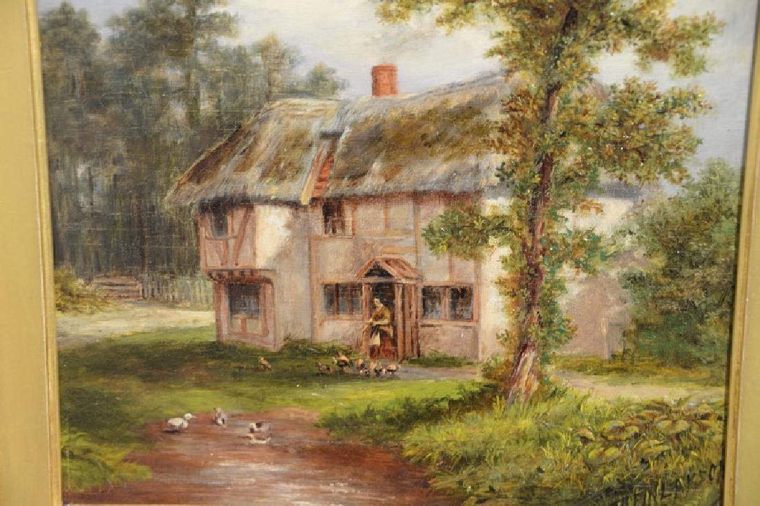 Thomas B. Finlayson (1835-1893) oil on panel, Burgess - 3