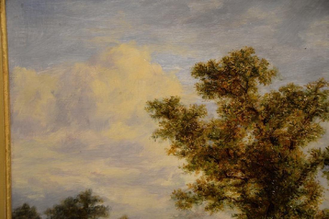 Thomas B. Finlayson (1835-1893) oil on panel, Burgess - 6