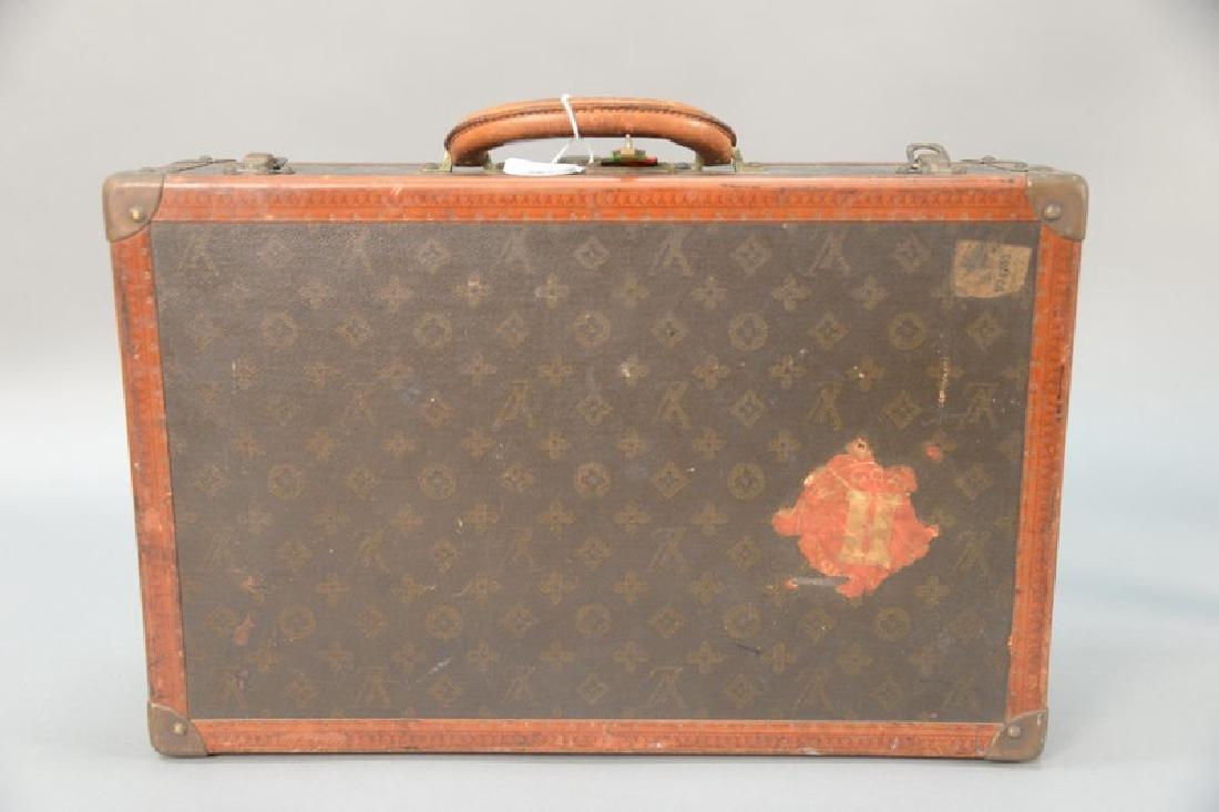 Louis Vuitton suitcase with label inside Louis Vuitton, - 3