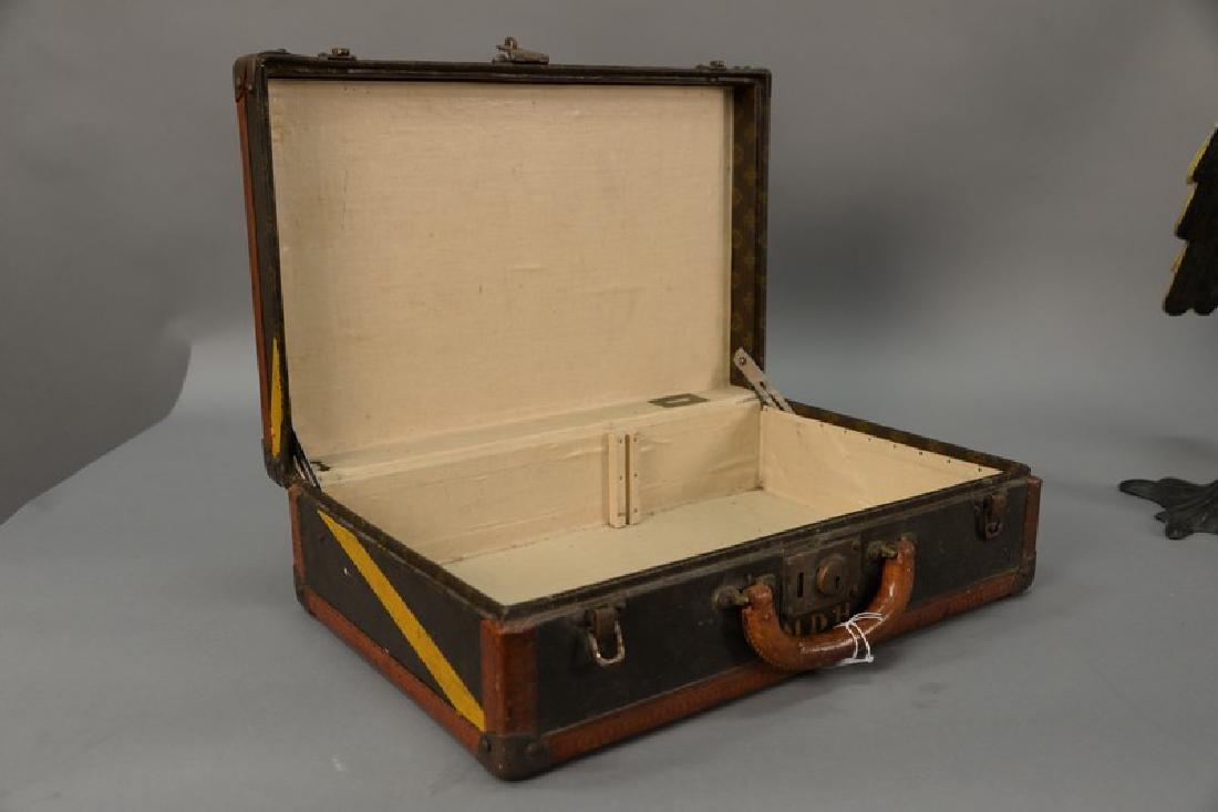 Louis Vuitton suitcase with label inside Louis Vuitton, - 4