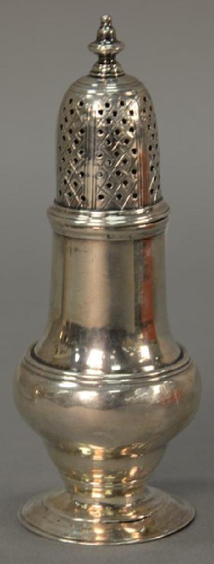 Small English silver carter. ht. 5in., 2.7 t oz.