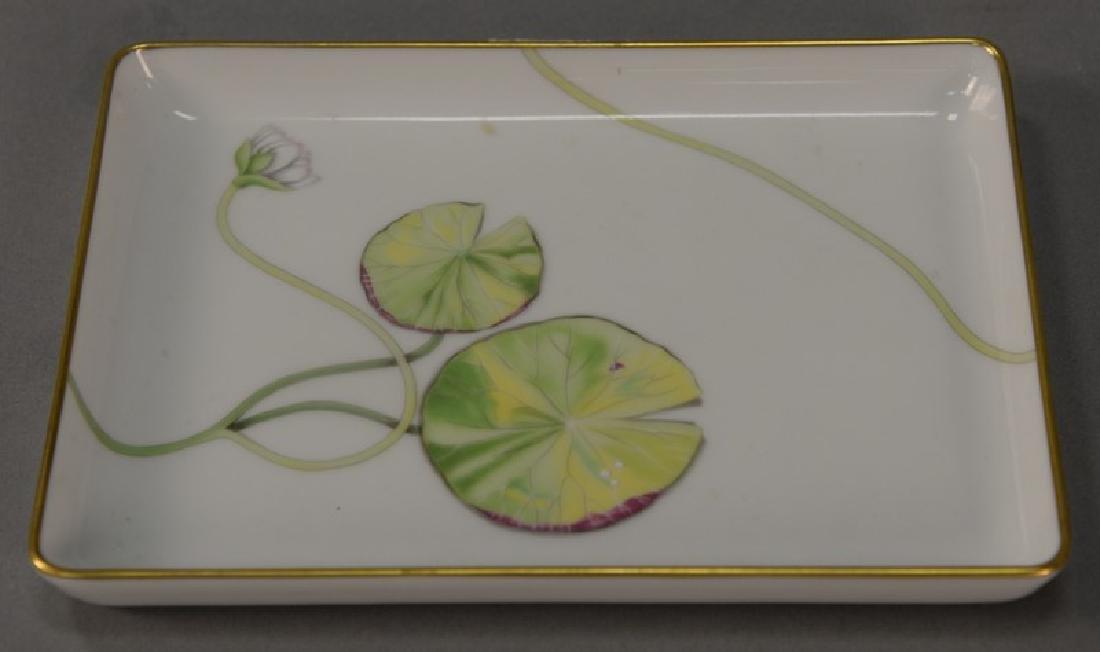 Small Hermes Nil porcelain tray signed Nil Hermes