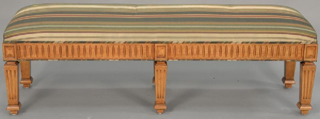 Attributed to J. Robert Scott, custom upholstered