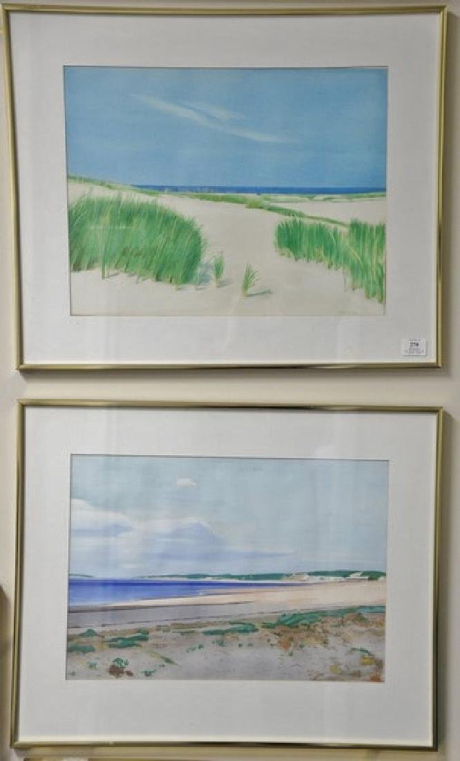 Four George North Morris (1915-1996) watercolors on