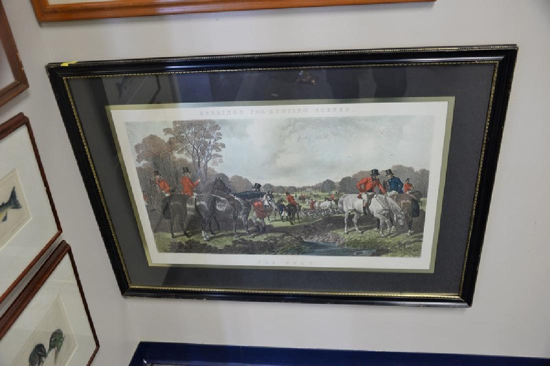 "Group of eight framed sporting pieces to include  ""The - 3"