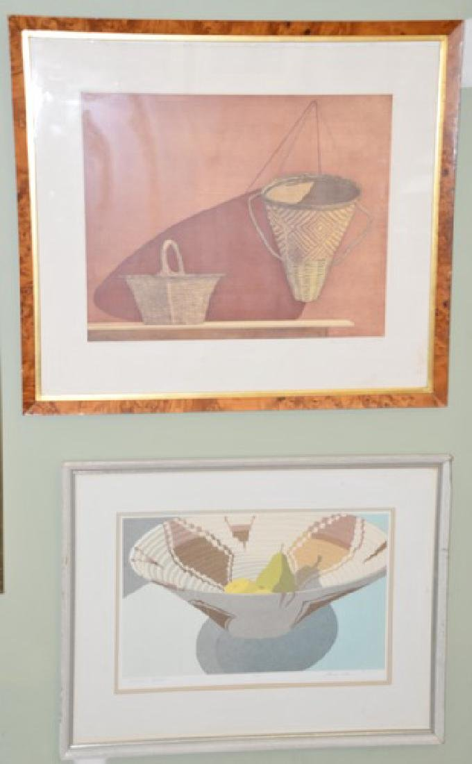 Group of seven lithographs including:  Randy Lee White,