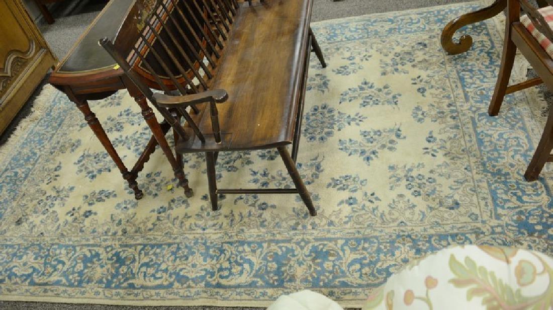 "Kirman Oriental area rug, 6' x 8'10"""