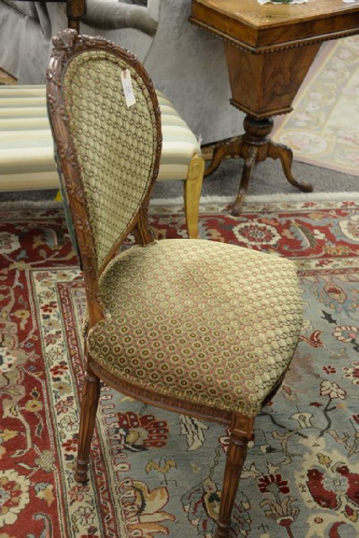 Set of eight Louis XVI style side chairs, custom - 6
