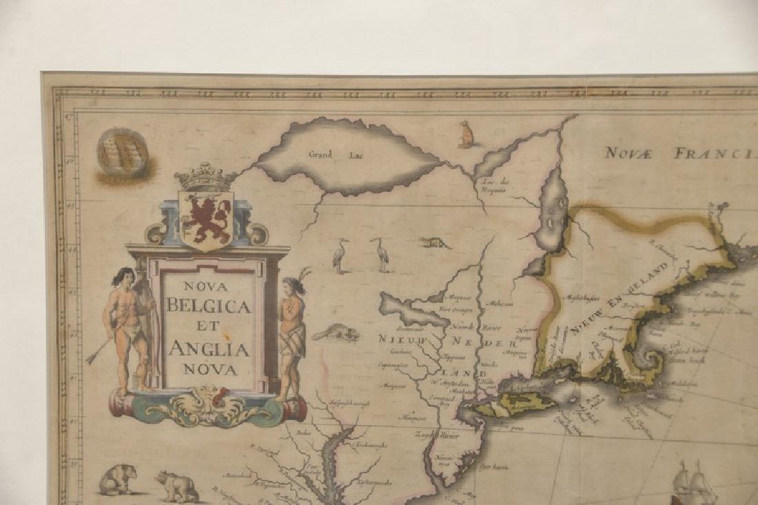Janssonius Joannes Nova Belgica Et Anglia Nova double - 2