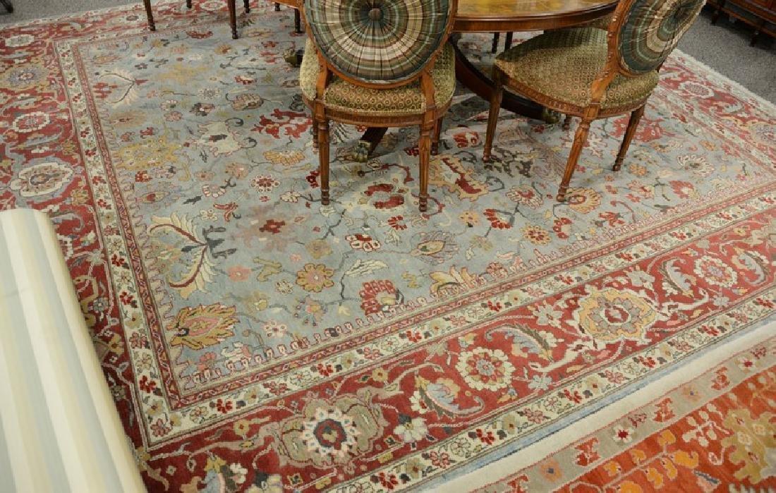 Oriental carpet, 11' x 12'.