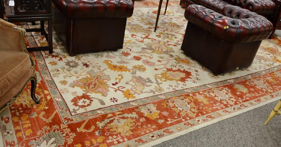 Oriental carpet, Serapi design, late 20th century (some
