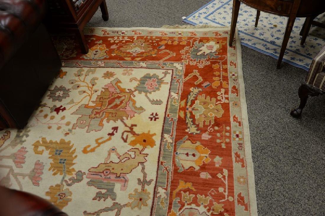 Oriental carpet, Serapi design, late 20th century (some - 3