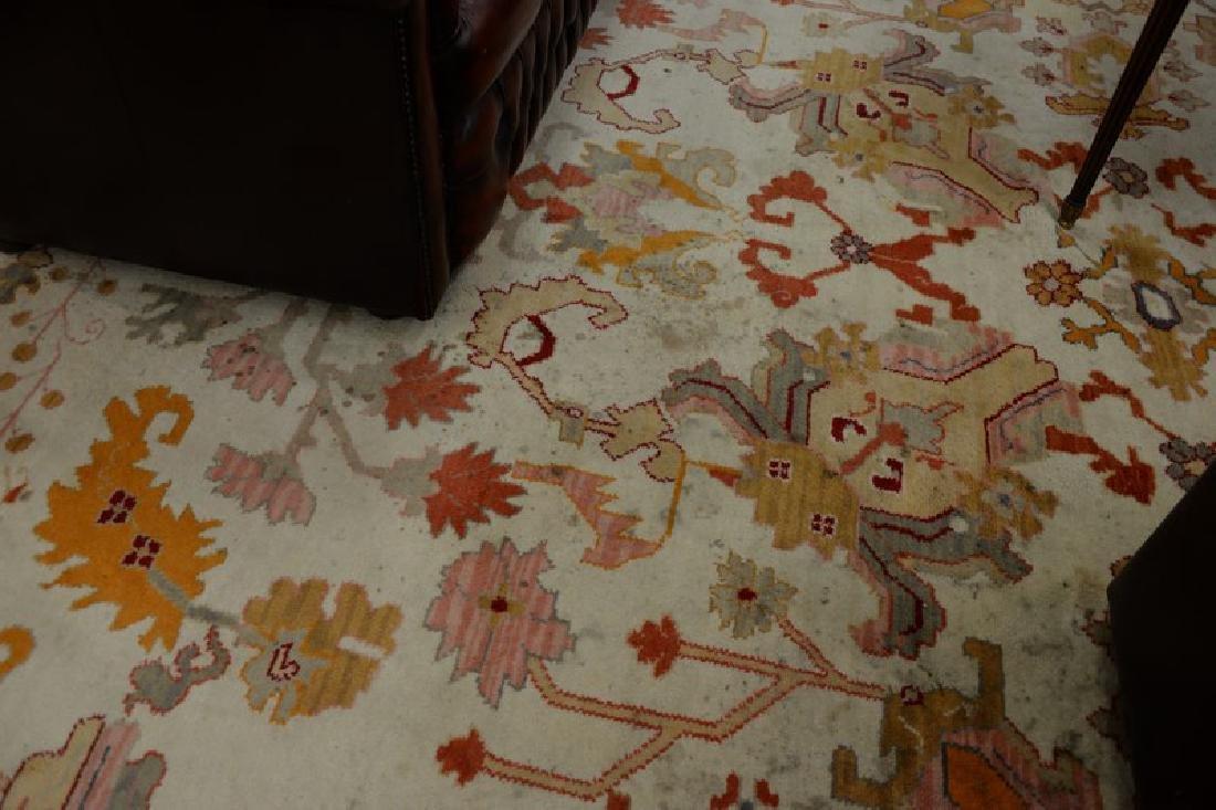 Oriental carpet, Serapi design, late 20th century (some - 6