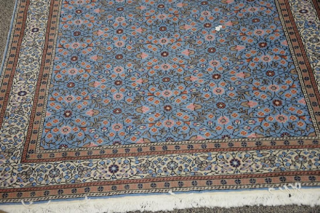 "Oriental throw rug. 4'8"" x 7'4"" - 2"
