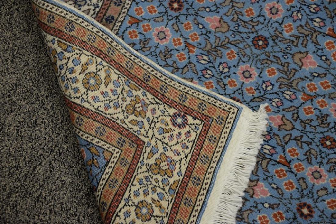 "Oriental throw rug. 4'8"" x 7'4"" - 3"
