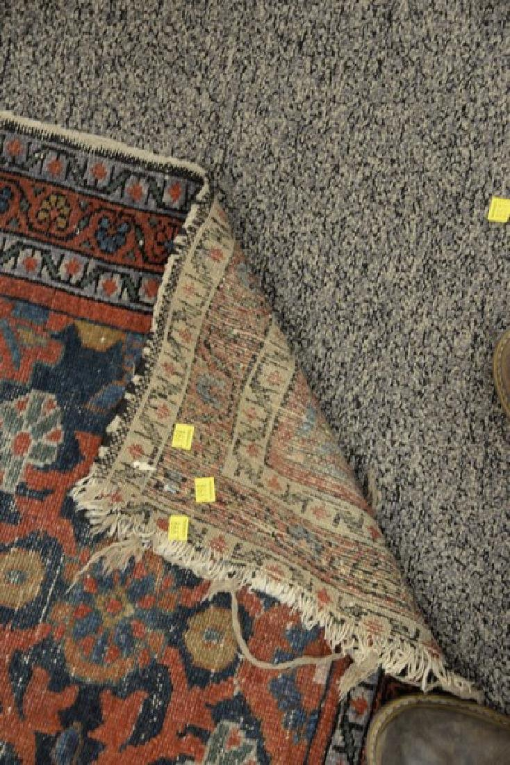 """Two Oriental throw rugs. 2'6"""" x 3'9"""" and 1' x 2'6"""" - 3"""