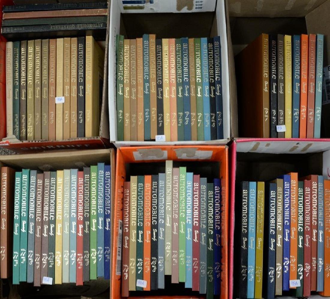 Automobile Quarterly (1962-1982) complete set volume