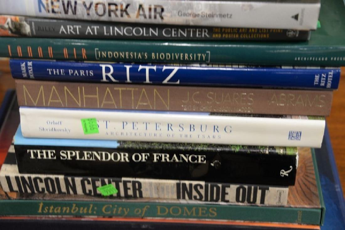 Fifteen art themed coffee table books to include Suores - 4