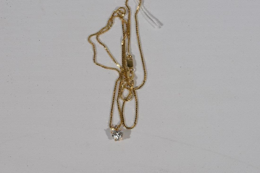 NO CREDIT CARDS FOR JEWELRY  14 karat yellow gold chain - 2