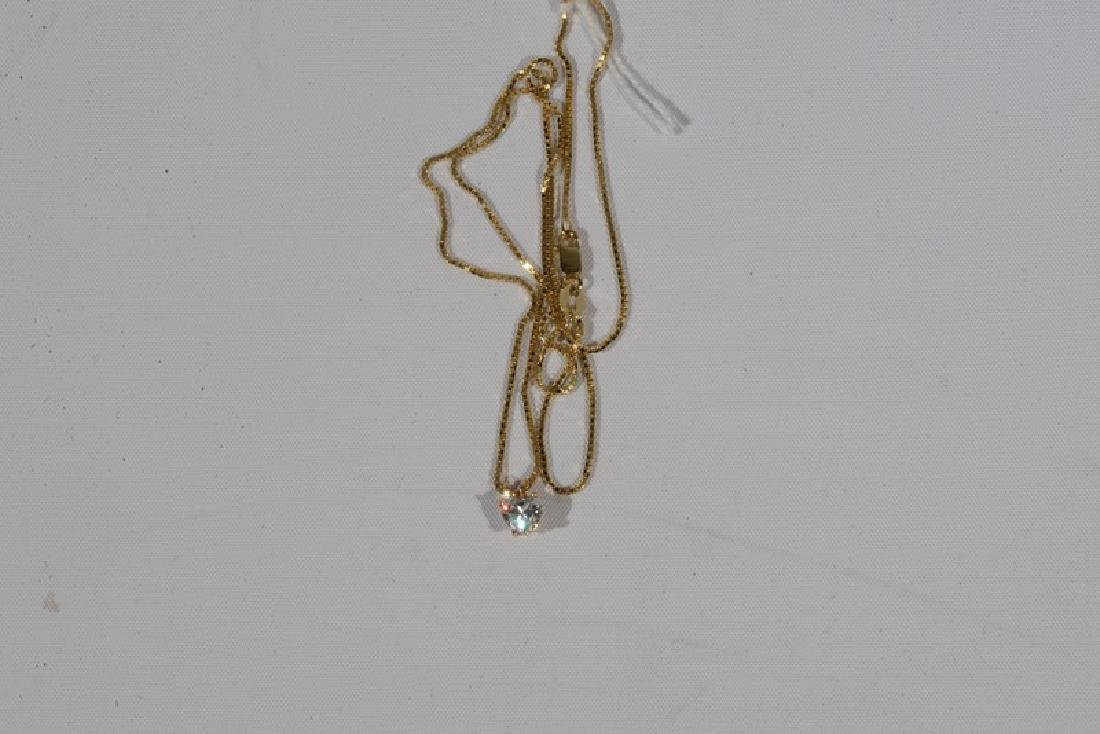 NO CREDIT CARDS FOR JEWELRY  14 karat yellow gold chain - 3