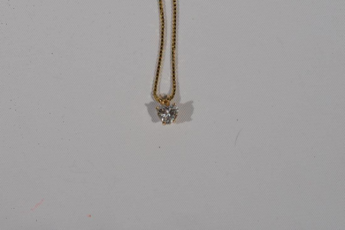 NO CREDIT CARDS FOR JEWELRY  14 karat yellow gold chain - 4