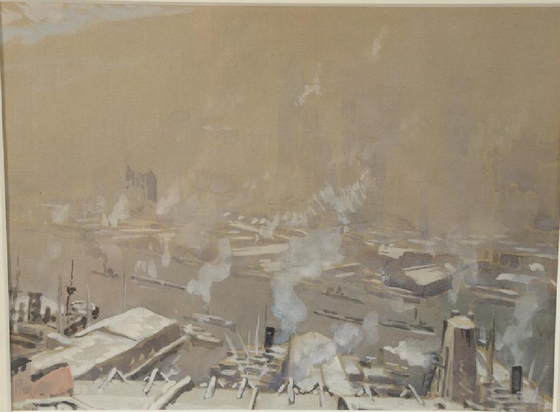 Joseph Pennel (1857-1926)  gouache on paper  New York