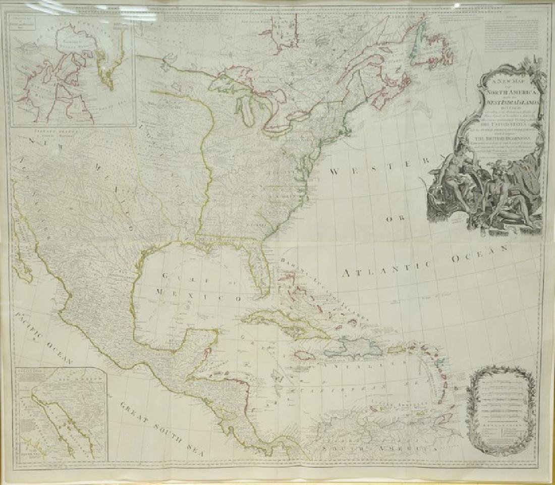 A New Map of North America with the West Indian Island
