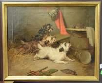 George Smith Armfield (1808-1893) oil on canvas