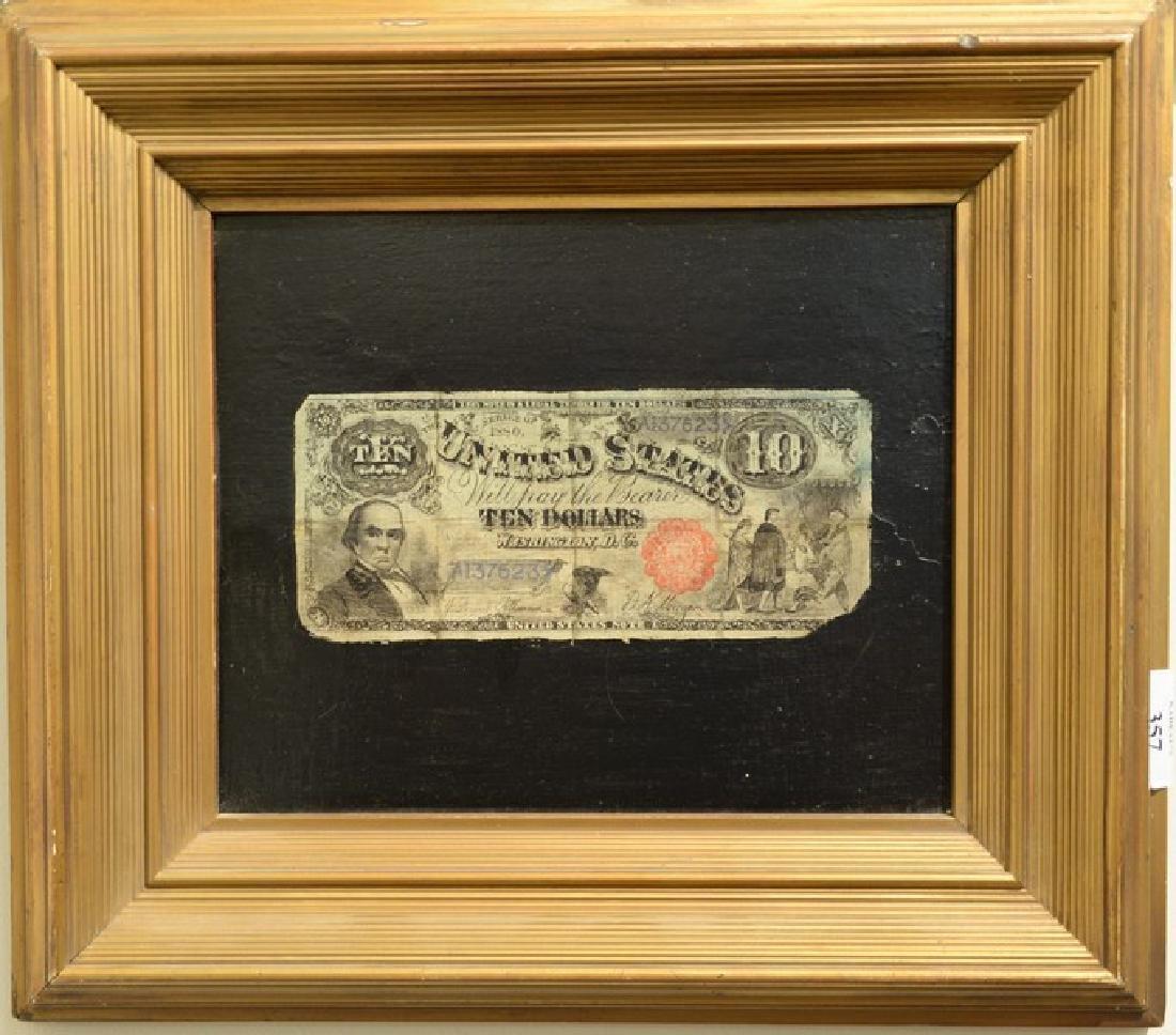 Nicholas Alden Brooks (1840-1904)  oil on panel  Ten