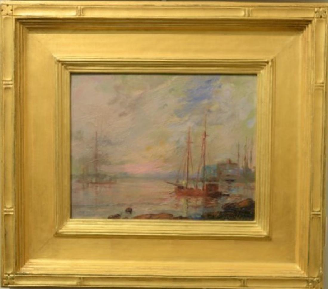 Oscar Anderson (1873-1953)  oil on board  Gloucester