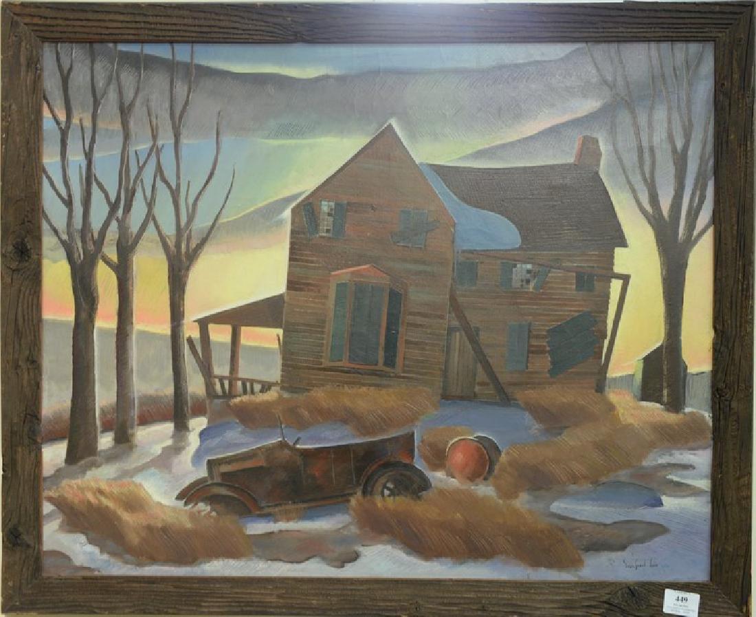 Sanford Ballard Dole Low (1905-1964)  After Thomas Hart