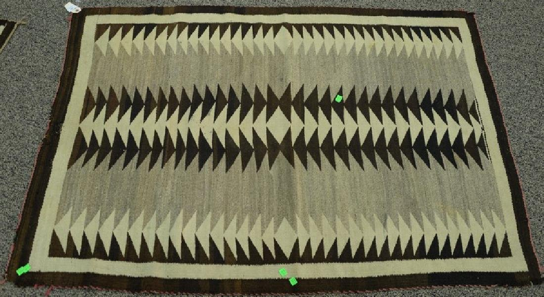 "American Indian rug.  3'5"" x 5'"