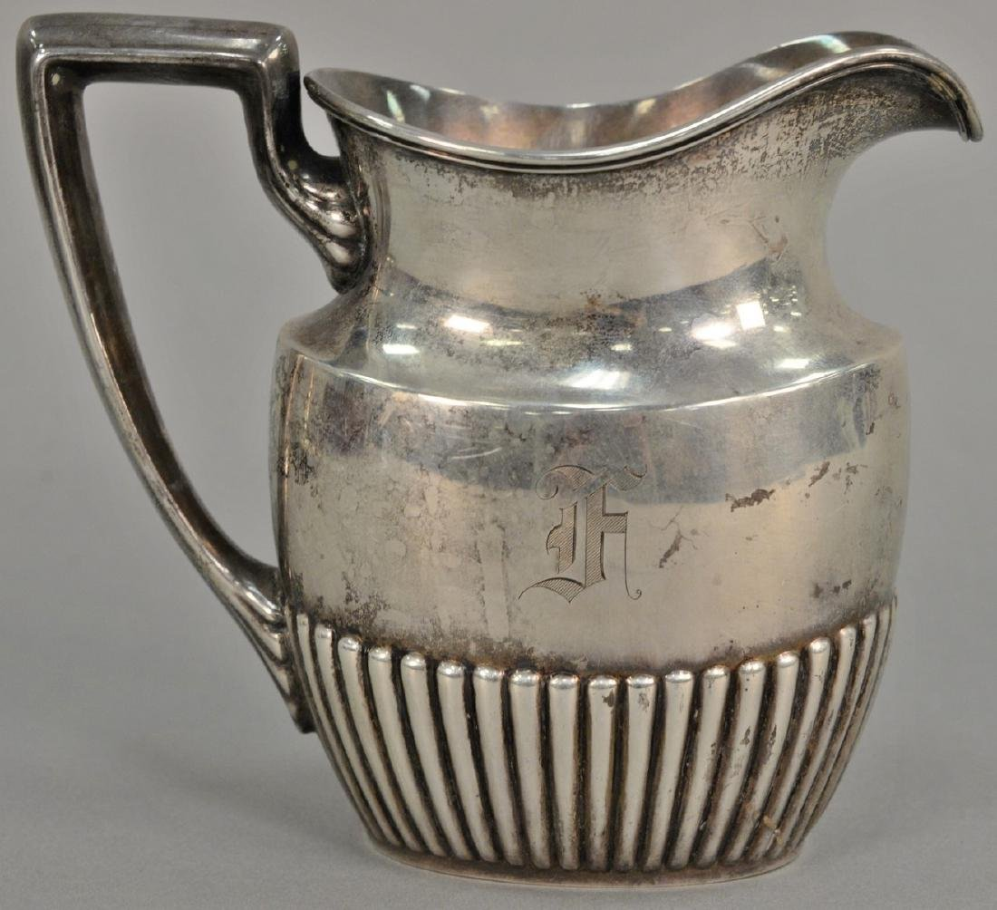 Gorham sterling silver pitcher. ht. 6 1/2in., 14.5 troy