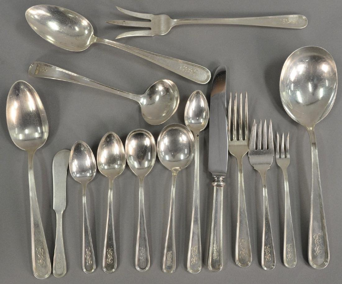 S. Kirk sterling silver flatware set, to include 12