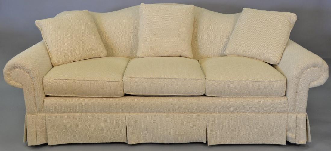 Classics Vanguard upholstered sofa (like new). wd. 85