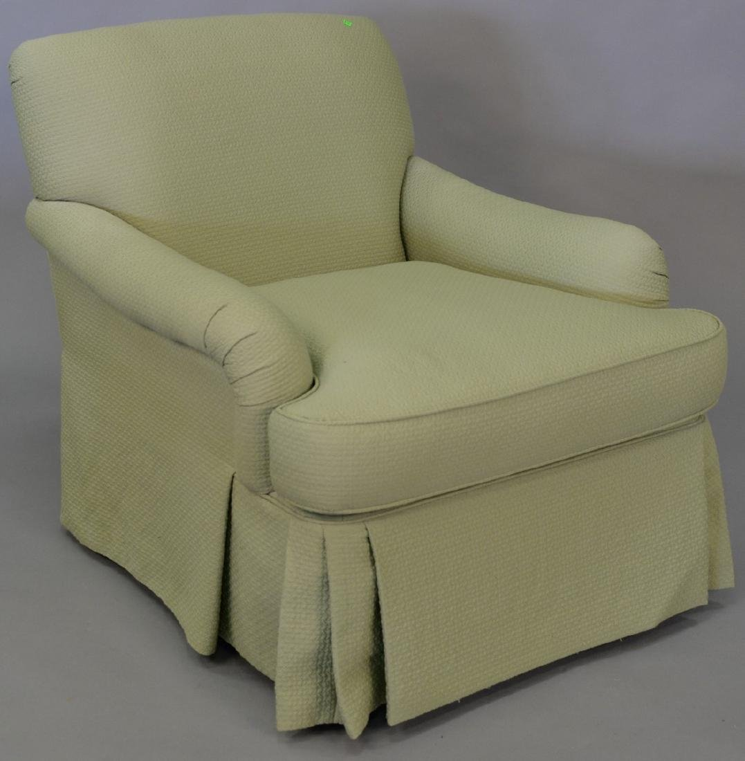 Vanguard upholstered easy chair.
