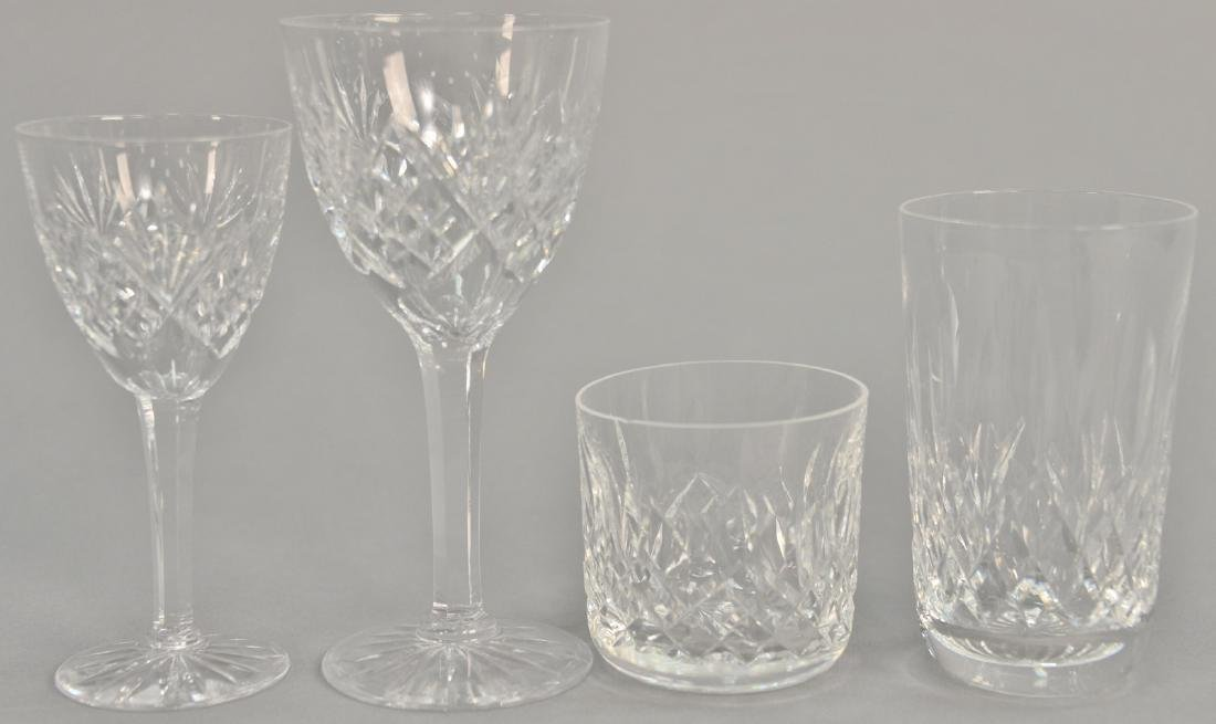 Twenty-two piece crystal lot to include five Waterford