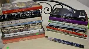 "Twenty coffee table books to include Hampton's ""The"