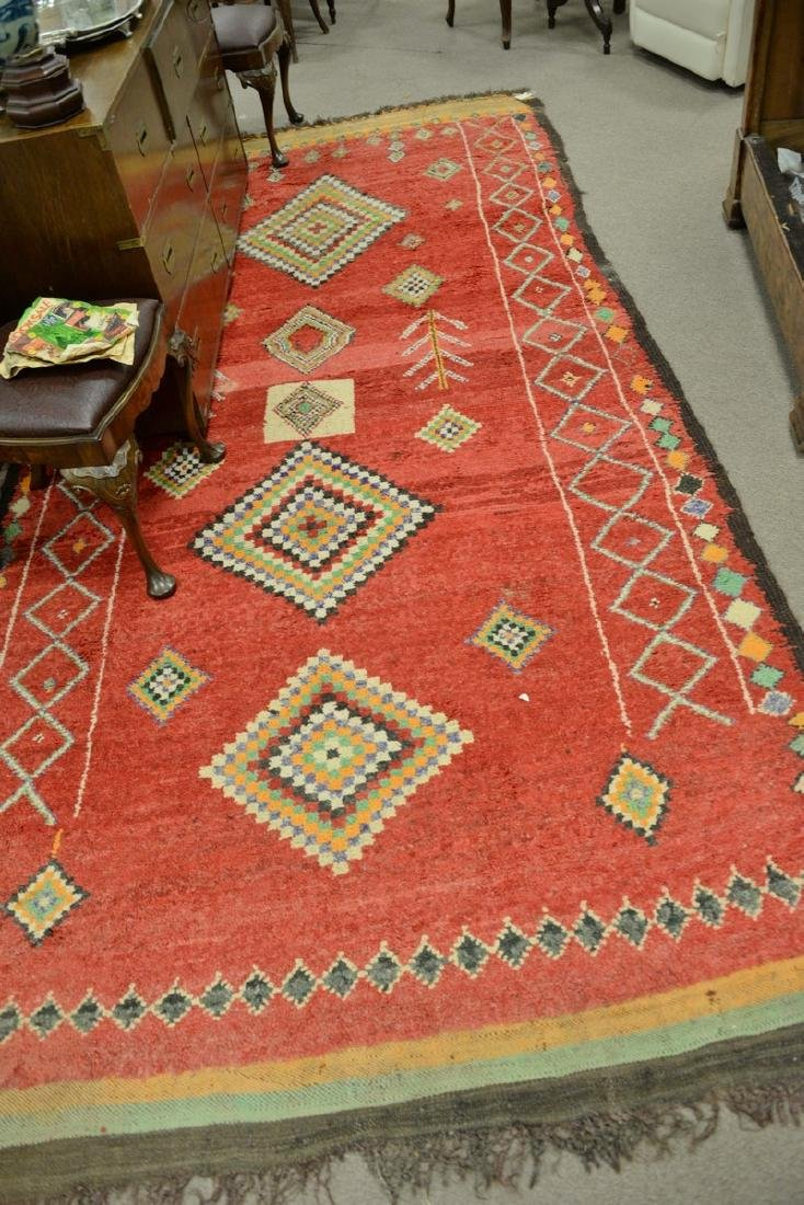 """Oriental rug. 5'3"""" x 11'  Provenance: From the Estate"""