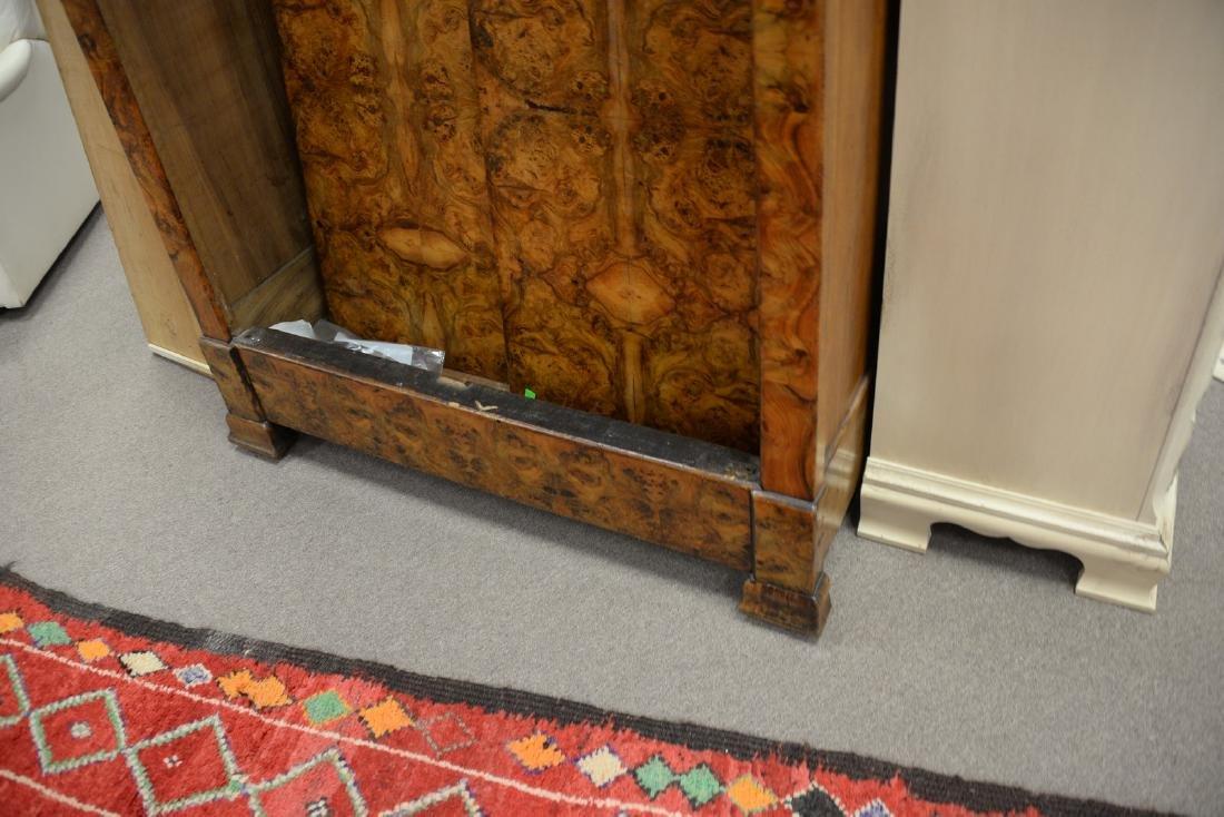 Burlwood two door armoire (doors off for moving). ht. - 3