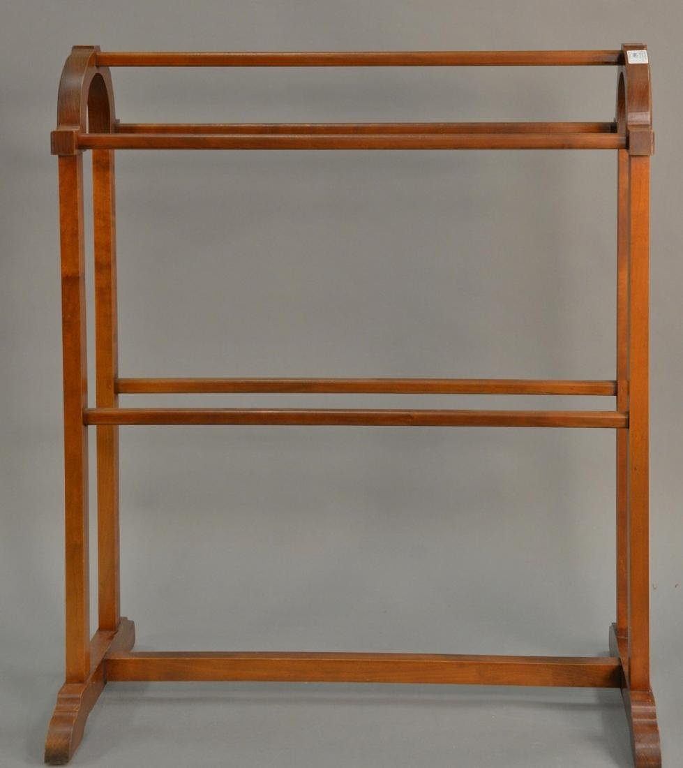 Eldred Wheeler quilt rack, signed on bottom. ht. 37
